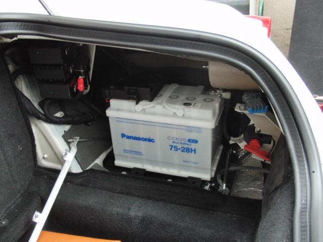 フェラーリ612バッテリー交換