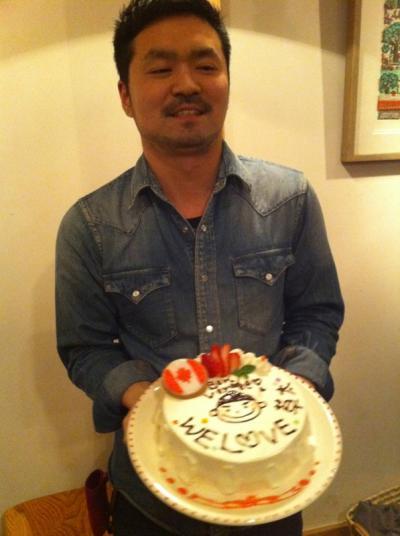 草ちゃんとケーキ