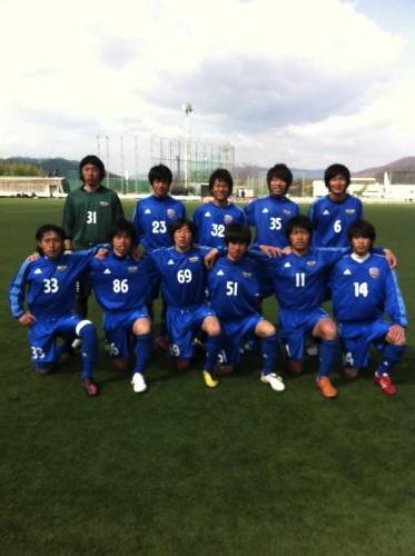 2012 全広島/社会人予選③ vsピースクラブ(2012:4:1 sun)1/3