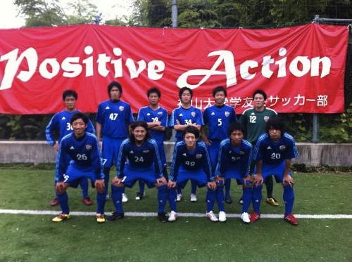 Iリーグ中国2012 第3節 vs平大(2012:6:30 sat)1/2