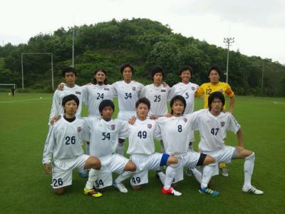 Iリーグ中国2012 第4節 vs修道A(2012:7:14 sat)1/2