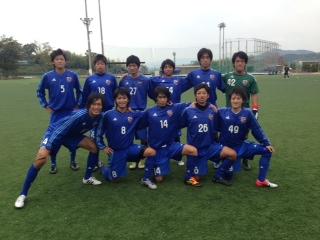 Iリーグ中国2012 プレーオフ 第2戦 vs徳山大学(2012:10:27 sat)1/2