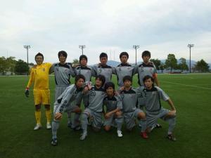 2012 中国L 第10節 vs広経大(2012:10:14 sun)1/2