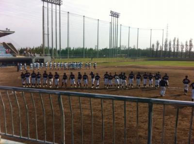中四国プレーオフ(野球部)2011:10:29 sat 2/3