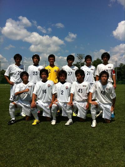 Iリーグ中国 第5節 vs修道大学A(2011:8:27 sat)1/2