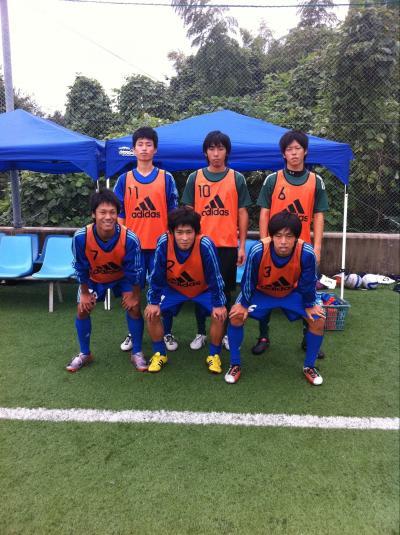 Iリーグ 第10節 vs徳山B 1/2(2011:10:15 sat)