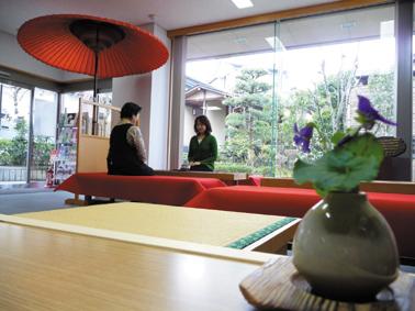茶道会館内 お茶 ブログ