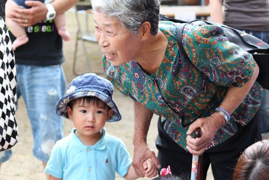 おばあちゃんと翔ちゃん