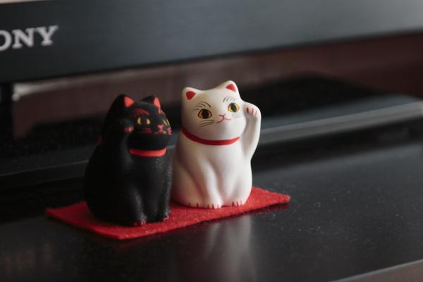 招き猫120428