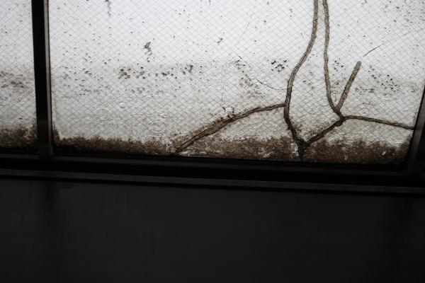 天窓の雨120605
