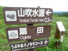 扇田・山吹水源