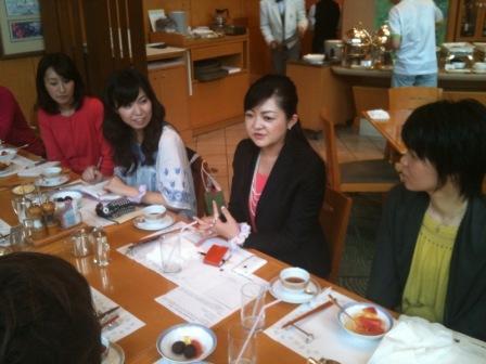 千恵さん朝食会