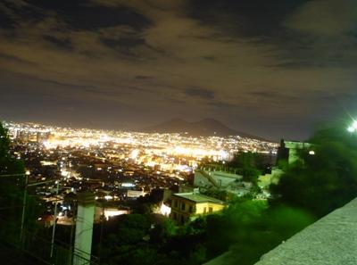 ピースボートイタリア夜