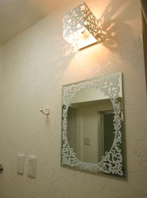 1217マンション洗面鏡1