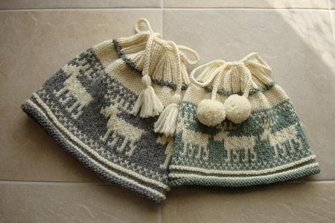 親子トナカイ帽