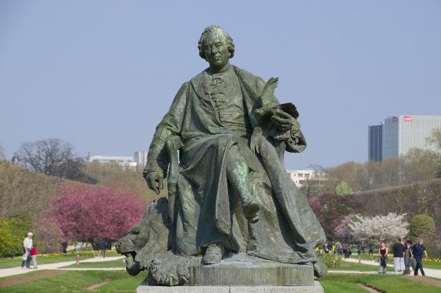 植物園:ビュフォンの彫像