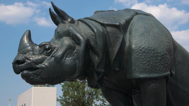 オルセー美術館の彫像:「犀」