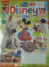洋雑誌「Disney and me」