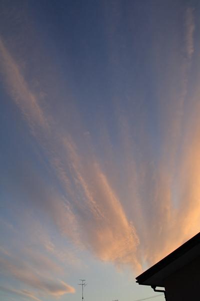 20101217 夕空