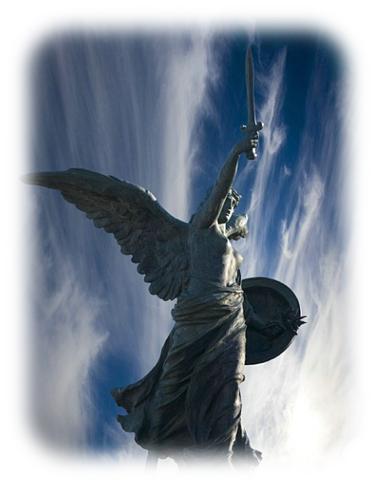 天使長の像