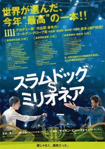 映画【スラムドッグ$ミリオネア】