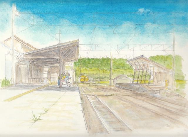 日野駅14