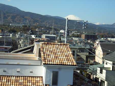 新屋分譲住宅富士山