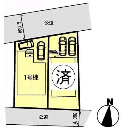 蓮正寺2区画図