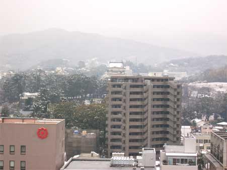 積雪小田原城