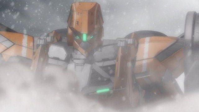 アルド 12 イナホ機 バストアップ 吹雪の中