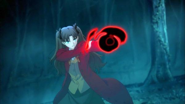 3 凛 イリヤに魔法弾を