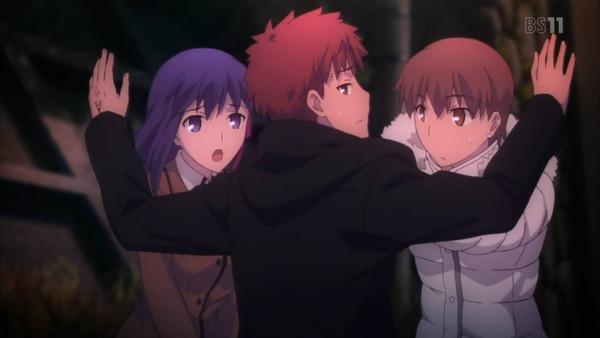 4 桜 セイバーさんっていうのですか 大河 士郎を問い詰める