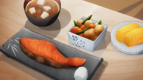 5 朝食 鮭 他