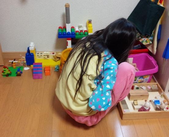 2014.11三女のレゴ