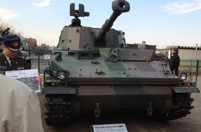 74式自走榴弾砲2