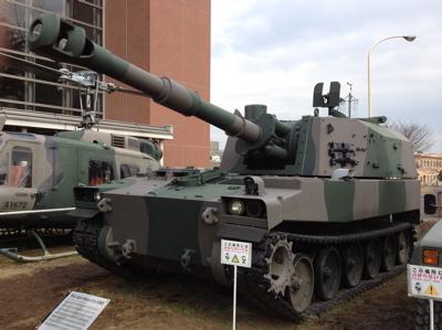 75式自走榴弾砲
