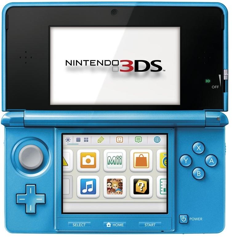 3DS ライトブルー