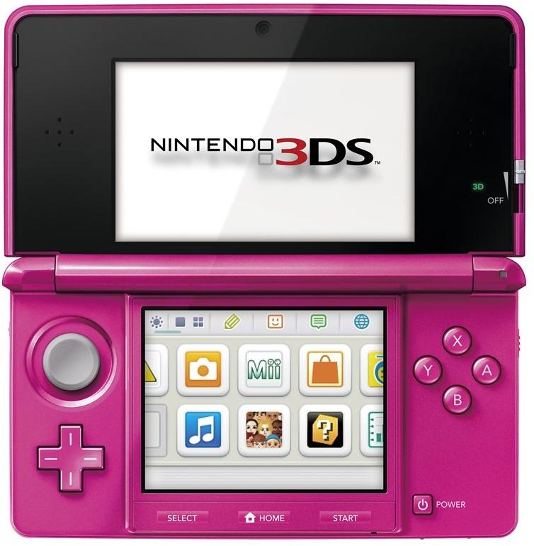 3DS グロスピンク