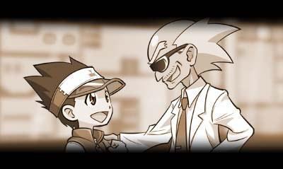 メダロット7 メダロット博士