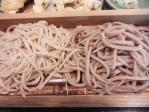 いわさき 二色天付 蕎麦 11.8.11