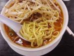 暮六つらーめん倶楽部 オロチョンねぎちゃーしゅーめん 麺 11.8.21