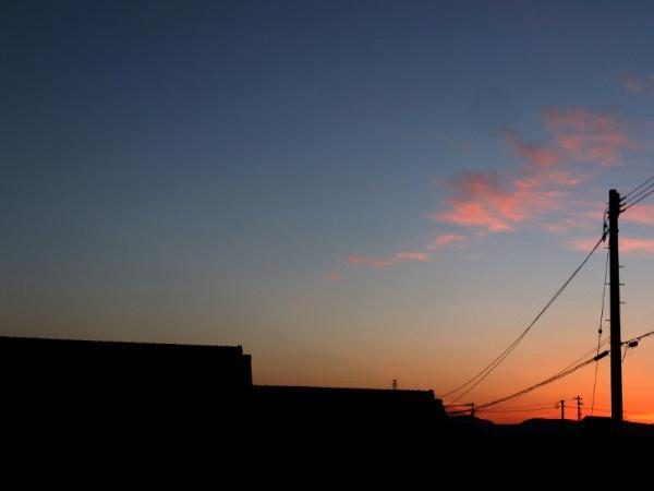 寒い朝の空02