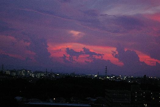 ゴジラ雲とアンギラス