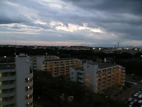 10月4日夕景