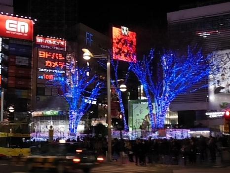 クリスマスの新宿