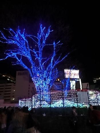 クリスマスの新宿B