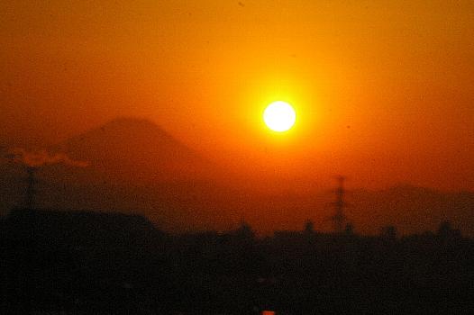 富士の裾野のリング