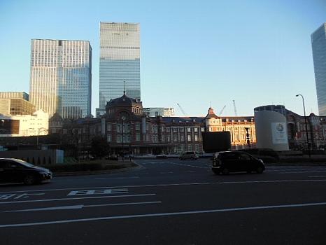 東京駅全景