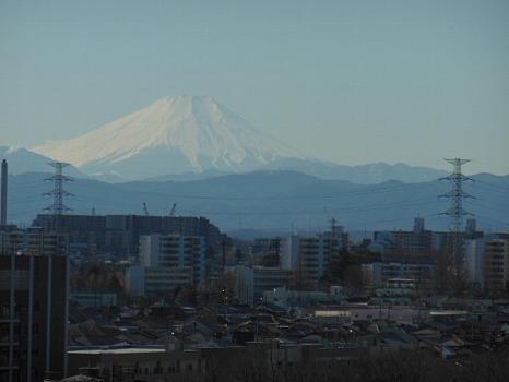 雲一つなき富士