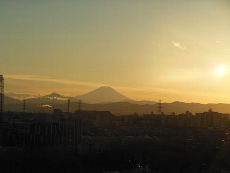 富士の冬B